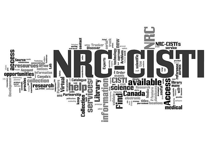 NRC-CISTI wordle